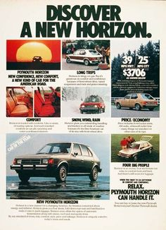 My first car, 1980 Plymouth Horizon!  I learned so much about working on cars because of this beauty!
