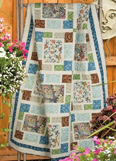 """""""Breezeway"""" by Sue Harvey and Sandy Boobar (from Quilt Trends Magazine Summer 2013 issue)"""