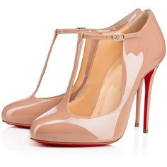 e4276d9d8a6 Christian Louboutin Tpoppins ( 745) ❤ liked on Polyvore featuring shoes