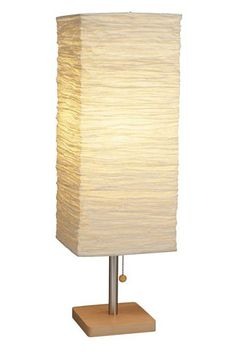 27 Bright Ideas For An Instant Home Upgrade #refinery29  http://www.refinery29.com/light-fixtures#slide3  Adesso Corp. Dune Table Lamp, $56.25, available at Lightology.