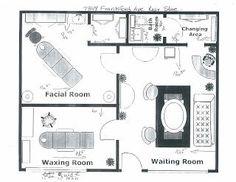 Home Spa Room, Spa Room Decor, Spa Rooms, Schönheitssalon Design, Design Salon, Layout Design, Facial Room, Spa Interior Design, Esthetics Room