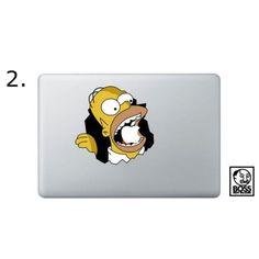 Simpson Macbook And iPad Decal (6 design)