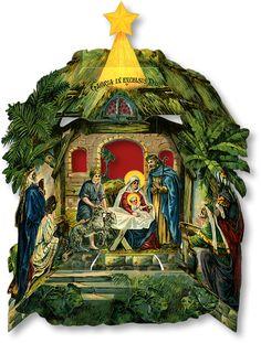 Nativity Triptych - PaperModelKiosk.com