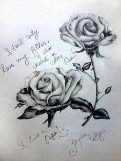 LuV u Dad!! :-) - Sketching by Gyan Prakash Karn in My Scrapbook at touchtalent 31370