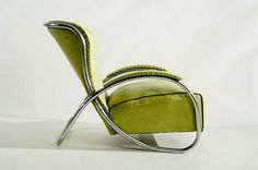 Armchair (ca. 1934) by designer KEM Weber (1889-1963). Photo courtesy Sotherby's