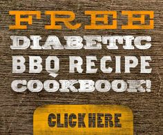 FREE Diabetic BBQ Recipe Cookbook