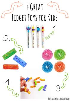4 great fidget toys for kids - necessary for stress release and staying focused