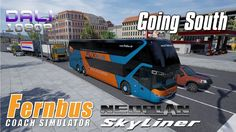 """Fernbus Simulator - Neoplan Skyliner Add-on Preview The journey continues: the first add-on for the popular Fernbus Coach Simulator features the Neoplan Skyliner! This """"King of the Road"""" is a special luxury coach in the real world and of course in this simulation. #Fernbus #Neoplan #Steam #AerosoftGmbH #TMLStudios #YouTube"""