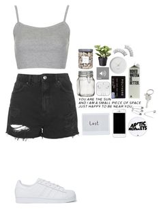 """""""Untitled #1169"""" by mel5-973 ❤ liked on Polyvore featuring Topshop, adidas Originals, Crate and Barrel, Georg Jensen, Paul Smith and Threshold"""