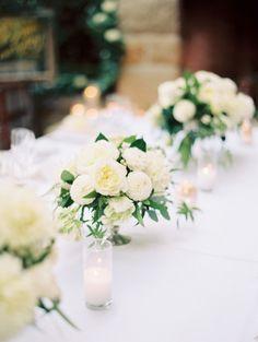Ivory flowers: http://www.stylemepretty.com/2015/02/16/elegant-fall-san-ysidro-wedding/ | Photography: Ashley Kelemen - http://ashleykelemen.com/