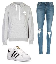 """""""ADIDAS Outfit"""" by jillian-angeles ❤ liked on Polyvore featuring adidas, women's clothing, women, female, woman, misses and juniors"""