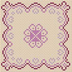 A Girl As Mad As Birds: Valentine Biscornu and Fob - Free Cross Stitch Chart!