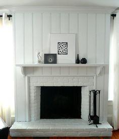 fireplace remodel ideas   Design Ideas Fascinating your Homey Home: White Fireplace Design Ideas ...