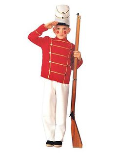 $22.32 Toy Soldier Child Costume | Wholesale Christmas Costumes for Boys