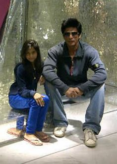 Shahrukh and Suhana Khan - out shopping together