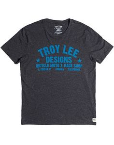 Troy Lee Race Shop T-shirt - Tees - Lucky Brand Jeans