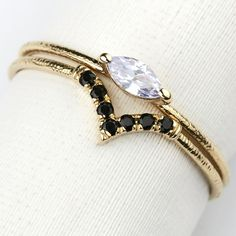76e91d0a4 Flash Of Color Birthstone Ring [14K gold] by Keren Wolf Yellow Gold Rings,