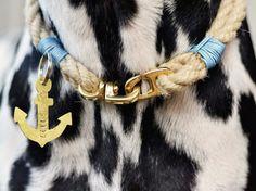 Tutoriel DIY: Faire un collier marin pour chien via DaWanda.com