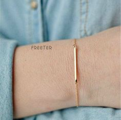 Golden Simple Stacked  Bracelet#516093