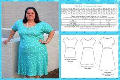 Remembrance Dress PDF Sewing Pattern Kimono Sleeve by RadPatterns