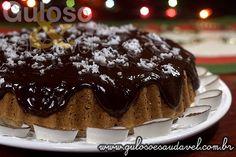 Torta de Coco com Cobertura de Chocolate