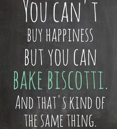 Cookie Quotes, Biscotti, Quote Of The Day, Happiness, Mindfulness, Peace, Pure Products, Baking, Happy