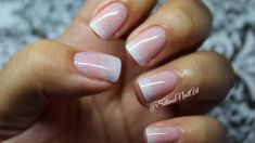 French Gradient Nail Art Tutorial (Sponge Technique) by Selinas Nail Art found at https://www.youtube.com/watch?v=wVQB4HEZXHs