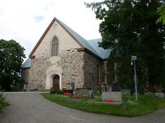 Kirkkonummi St. Michael's church, Finland. Pyhän Mikaelin kirkko. Photo: Antti Bilund