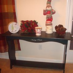 Cascades Sofa Table from Vintage Paints, Orlando FL.