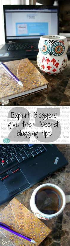 Secret Blogging Tips from 25 Expert Bloggers | therusticwillow.com Blog, Blogging Business #blog
