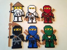 Image result for fuse beads ninjago