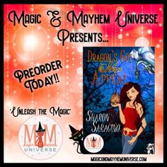 What's a girl to do when her parents confess they sold her in service to Satan? Preorder Dragon's Got Hex Appeal by Sharon Saracino to find out. #MagicMayhemUniverse #ebook #pnr #UnleashTheMagic #preorder #authorsofinstagram