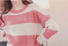 Nice colors! Every girl wants sweaters like this one!