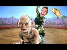 SQUEEZIE ▶ FAIRE DU RODÉO SUR GOLLUM ! - A Mothers Inferno - YouTube