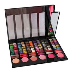 PhantomSky[luxury Version] 78 Color Eyeshadow Palette Makeup Cosmetic Contouring Kit Combination with Blusher / Lipgloss / Concealer