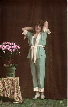 1920s Pajama Set.