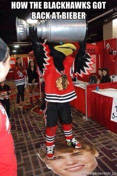 Well done @Chicago Blackhawks, well done
