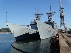 OHP Frigates - ORP Gen. T. Kościuszko & ORP Gen. K. Pułaski, photo: J. Staluszka Armada, Sailing Ships, Boat, Military, Dinghy, Boats, Tall Ships