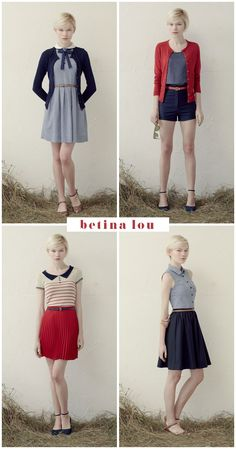 Outfits.  Cute.  Classy.  And from the looks of it, perfect for Independence Day next year.