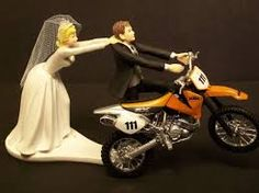 motobike wedding cake toppers - Google Search