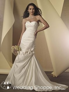 Bridal Gowns Alfred Angelo  2444 $399. Takes 3 months to order.