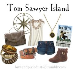 """Tom Sawyer"" by loveandpixiedust on Polyvore"