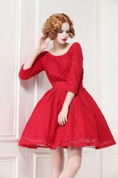 Elegant Vintage Off Shoulder lace Slim tutu Dress TE026 plus 1x-10x (SZ1 6-52)