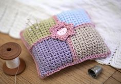 beginner crochest projects | Beginners Crochet Pin Cushion Project