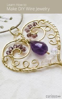 With the right tools, materials, and skill set, you can create DIY jewelry that is artistic and looks professionally crafted. Discover how to make your own earrings, necklaces, rings, and bracelets in this DIY jewelry-making course. Review helpful jewelry making techniques and learn how to work with wire, use chasing hammers, and size jewelry. You'll also learn how to create hammered stackable rings, a tree of life pendant, a wire cuff bracelet, teardrop earrings, and more!