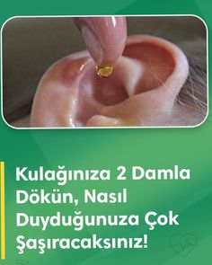 Health design Pour 2 Drops into Your Ear and How To .- Health design Kulağınıza 2 Damla Dökün ve Sonrasında Nasıl Duyduğunuzu G… Health design Pour 2 Drops into Your Ear and See How You Hear After It 579345939550360774 - Health And Fitness Articles, Health And Wellness, Health Tips, Health Fitness, Natural Health Remedies, Herbal Remedies, Natural Cures, Chocolate Slim, Health Trends