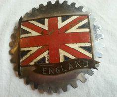 Mascot Emblem Vintage Riley Car Badge