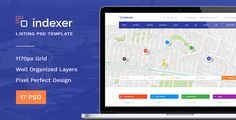 Download Free              Indexer — Universal Directory Listing PSD Template            #               ads #advertising #automotive #business #classified #classified ads #corporate #directory #jobs #listing #portal #real estate #services #shopping #travel