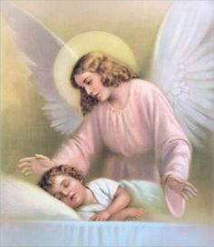 A guardian angel is an angel who protects and guides a particular person. The Roman Catholic Church's calendar of saints includes a memorial for the guardian angels on October Angels Among Us, Angel Protector, Bibel Journal, Angel Prayers, Catholic Prayers, Your Guardian Angel, I Believe In Angels, Angel Pictures, Angel Images