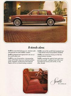 1976 Cadillac Seville / shout out to my patna Jevon Smith and his Seville